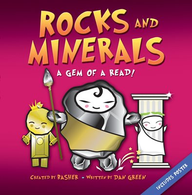 Book cover for Basher Science: Rocks and Minerals