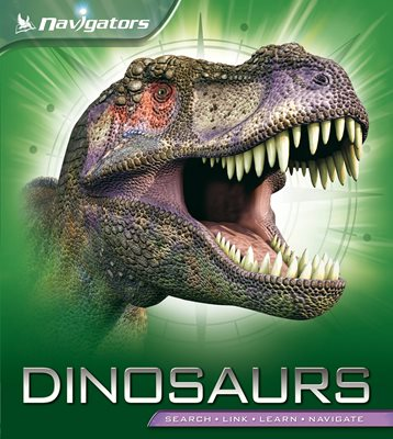 Book cover for Navigators: Dinosaurs