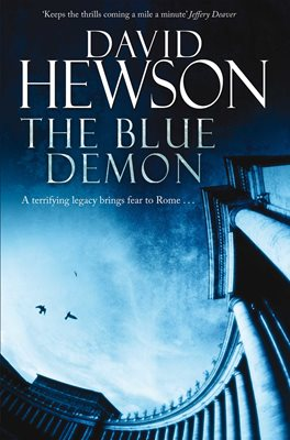 Book cover for The Blue Demon