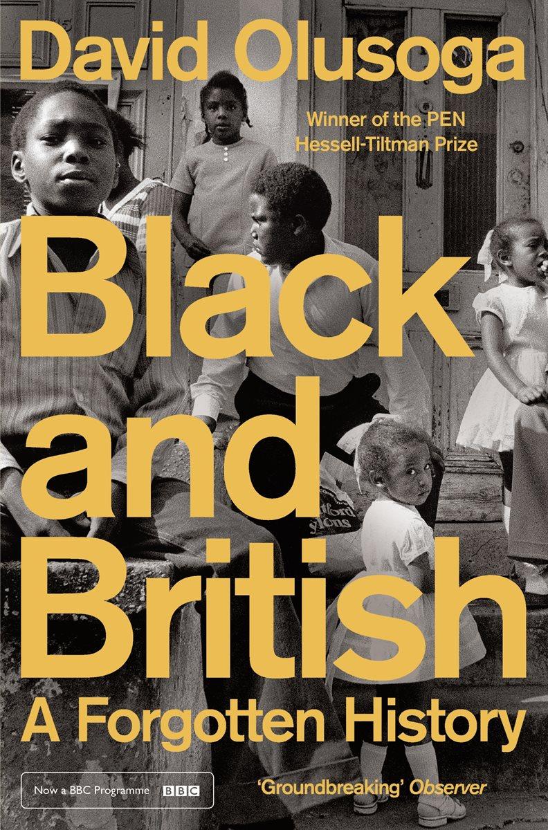 Book Cover Black Uk : Black and british by david olusoga