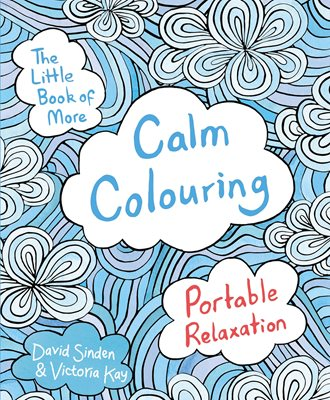 Book cover for The Little Book of More Calm Colouring