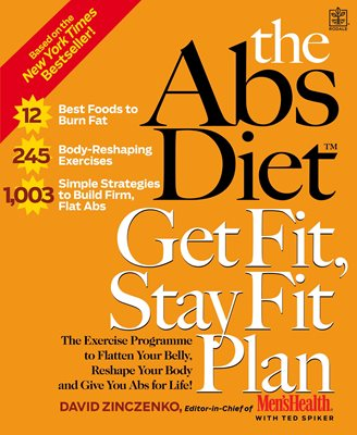 Book cover for The Abs Diet Get Fit, Stay Fit Plan
