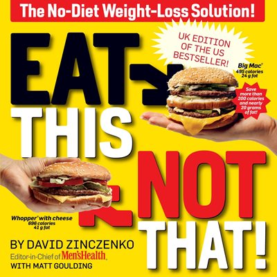 Book cover for Eat This, Not That