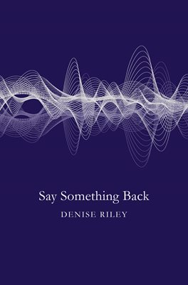 Book cover for Say Something Back