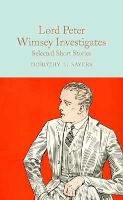 Book cover for Lord Peter Wimsey Investigates