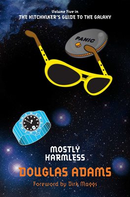 Book cover for Mostly Harmless