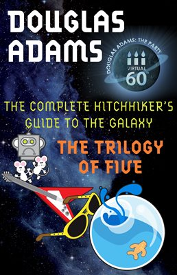 Book cover for The Hitchhiker's Guide to the Galaxy:...