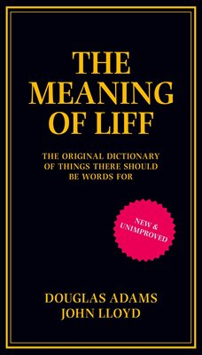 Book cover for The Meaning of Liff