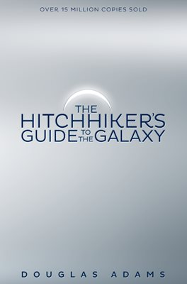 Book cover for The Hitchhiker's Guide to the Galaxy