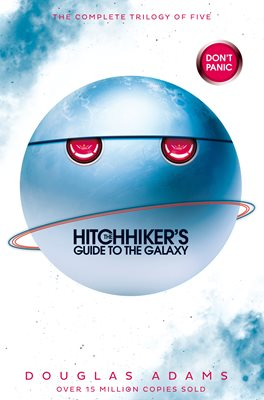 Book cover for The Hitchhiker's Guide to the Galaxy Omnibus