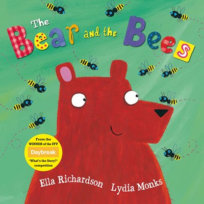 Book cover for The Bear and the Bees