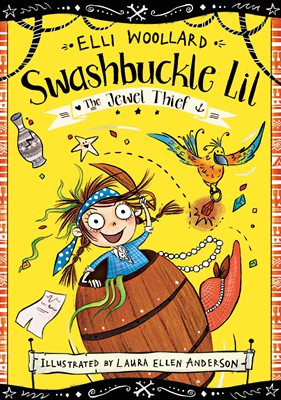 Book cover for Swashbuckle Lil and the Jewel Thief