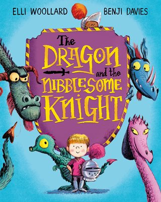Book cover for The Dragon and the Nibblesome Knight