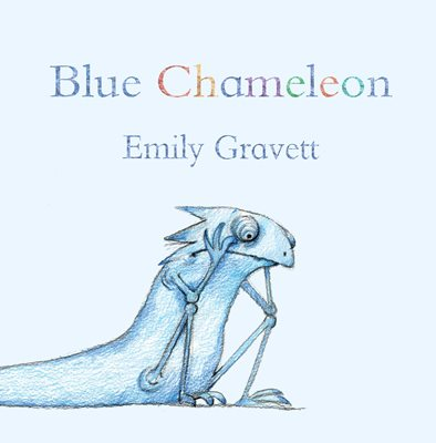Book cover for Blue Chameleon