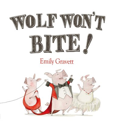 Book cover for Wolf Won't Bite!