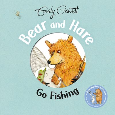 Book cover for Bear and Hare Go Fishing