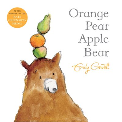 Book cover for Orange Pear Apple Bear
