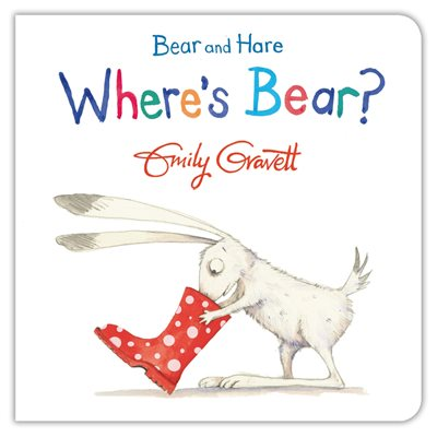 Book cover for Bear and Hare: Where's Bear?