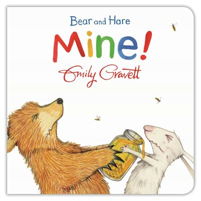 Book cover for Bear and Hare: Mine!