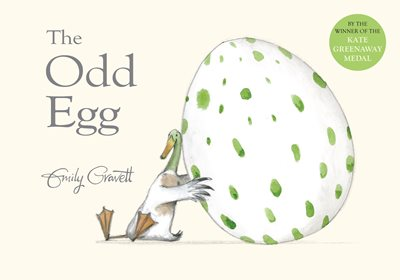Book cover for The Odd Egg