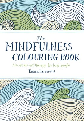 Book cover for The Mindfulness Colouring Book