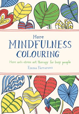 Book cover for More Mindfulness Colouring