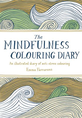 Book cover for The Mindfulness Colouring Diary