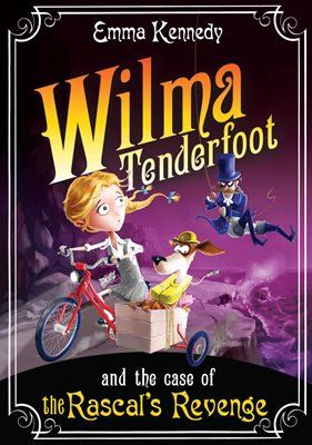 Book cover for Wilma Tenderfoot and the Case of the Rascal's Revenge