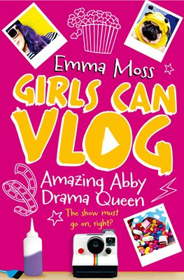 Book cover for Amazing Abby: Drama Queen