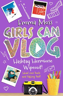 Book cover for Hashtag Hermione: Wipeout!