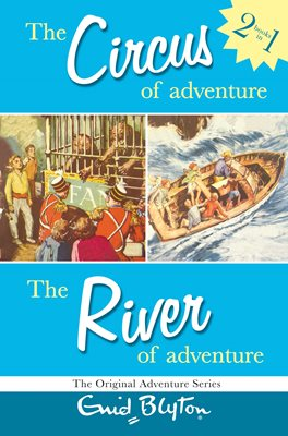 Book cover for Adventure Series: Circus & River Bind-up