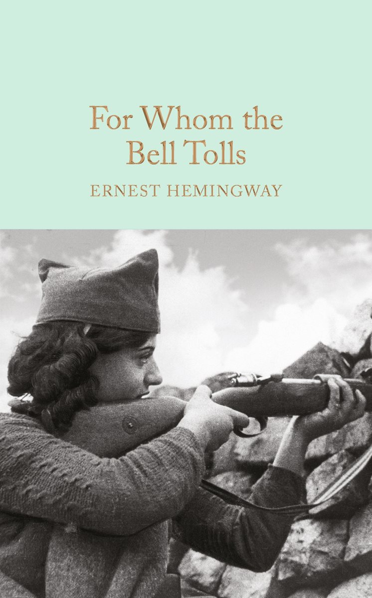 a review of ernest hemingways novel for whom the bell tolls Read common sense media's for whom the bell tolls review, age rating, and   ernest hemingway literary fiction 1940  no reviews yetadd your rating.