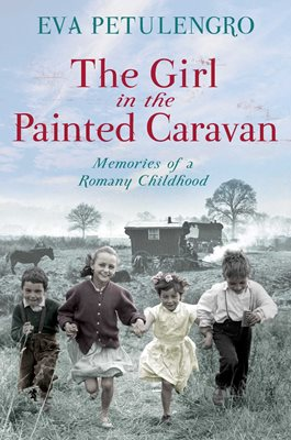 Book cover for The Girl in the Painted Caravan