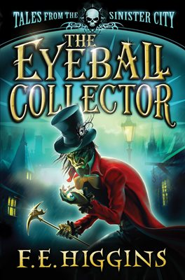 Book cover for The Eyeball Collector