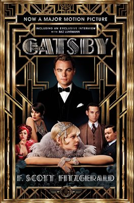 Book cover for The Great Gatsby Film tie-in Edition