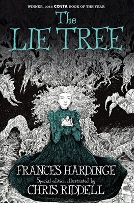 Book cover for The Lie Tree: Illustrated Edition