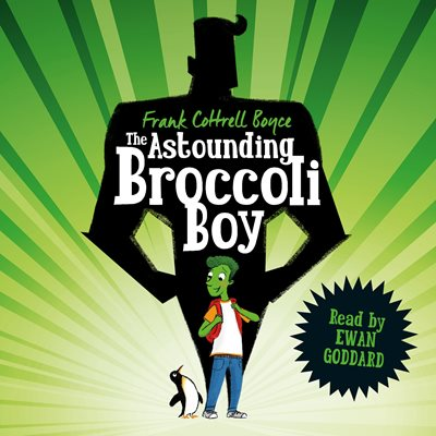 Book cover for The Astounding Broccoli Boy