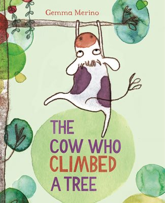 Book cover for The Cow Who Climbed a Tree