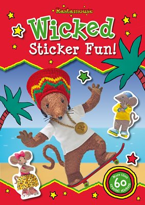Book cover for Rastamouse: Sticker Activity