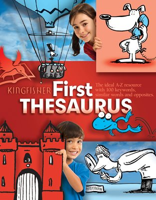 Book cover for Kingfisher First Thesaurus