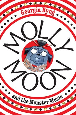 Book cover for Molly Moon and the Monster Music