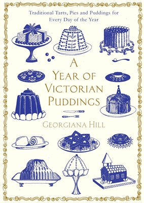 Book cover for A Year of Victorian Puddings