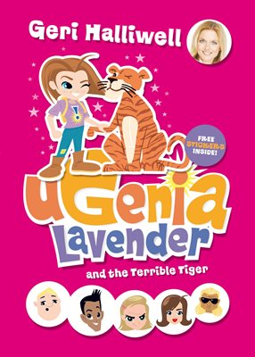 Book cover for Ugenia Lavender and the Terrible Tiger