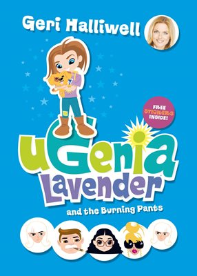 Book cover for Ugenia Lavender and the Burning Pants