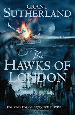 Book cover for The Hawks of London