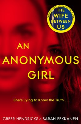 Book cover for An Anonymous Girl