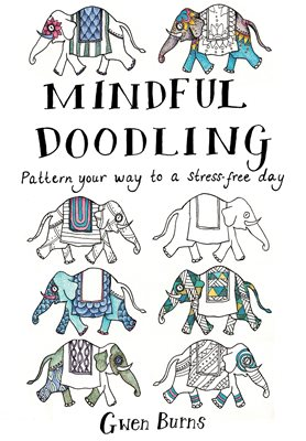 Book cover for Mindful Doodling