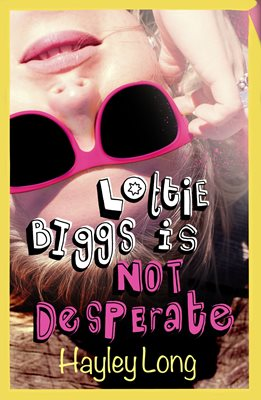 Book cover for Lottie Biggs is (Not) Desperate