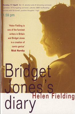 Book cover for Bridget Jones's Diary