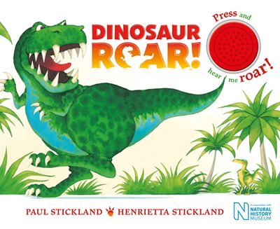 Book cover for Dinosaur Roar!